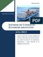 Informe de Comercio Exterior 2013
