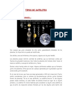 Tipos de Satelites( Godesia)