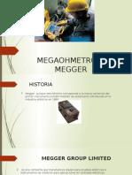Megaohmetro o Megger