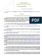 Lei 3765.60 - Completa