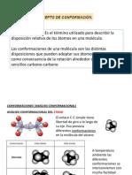 Conformaciones Alcanos y Cicloalcanos
