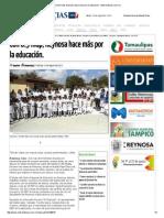 08-24-2015 Con 8.5 Mdp, Reynosa Hace Más Por La Educación