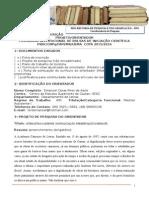 Formulario de Inscricao Projeto 2