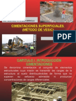 Cimentaciones Superfiales - Vesic