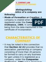 3 Company Law