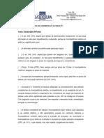 Aula Complementar - Direito Processual Civil- Prof. Ana Paula