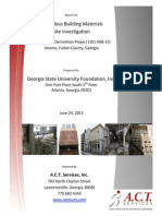 Bell Building Hazardous Material Report, June 2015