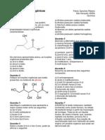 Funções Orgânicas de Química