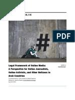 Legal Framework for Online Media in the Arab World