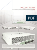 Fortinet Product Matrix