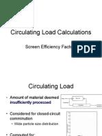 Circulating Load Calculations