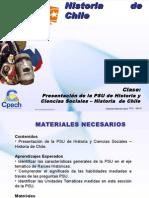 HCH CLASE 01 Presentación de la PSU Historia y Ciencias Sociales - Historia de Chile.ppt