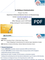 Topic 1_Introduction to Scientific Writing and Communication
