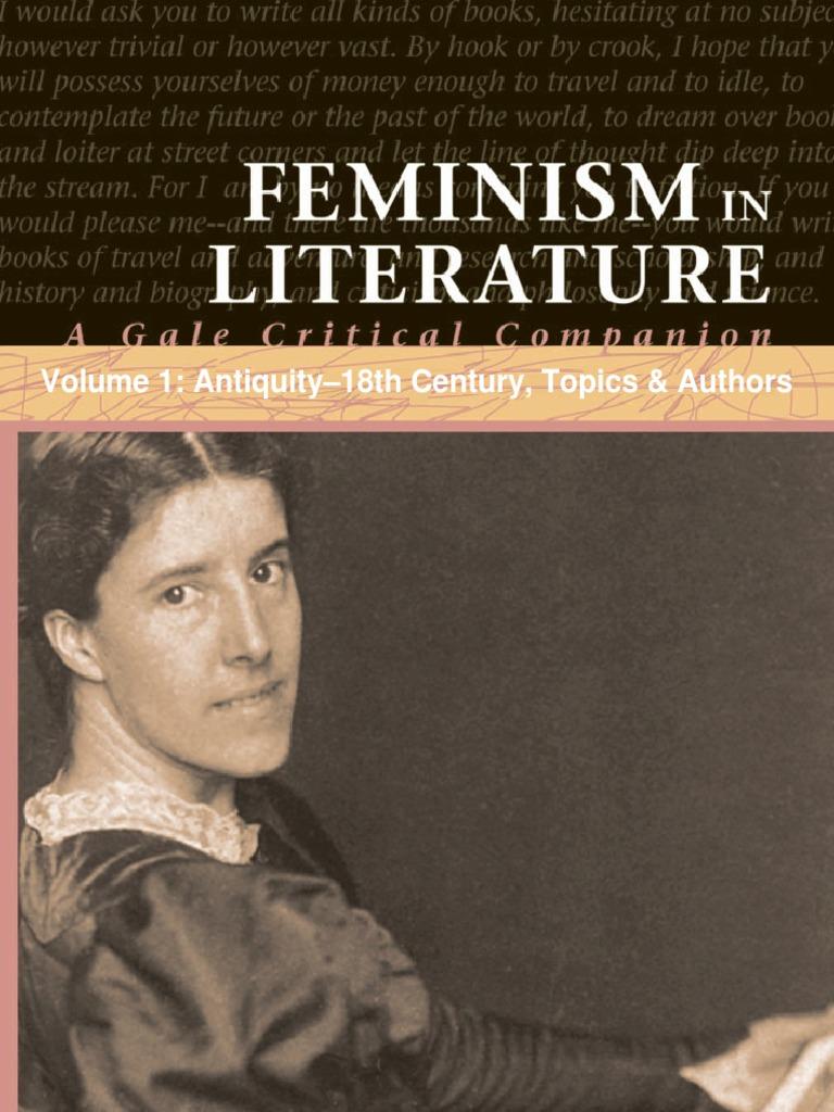 feminism in literature essay
