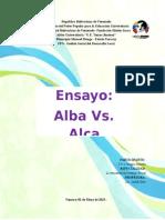Ensayo Sobre El Alba y El Alca