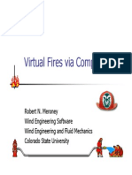 Virtual Fires via Computers