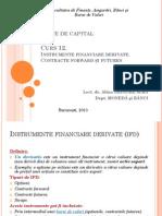 Curs 12. Forward &Futures_2015