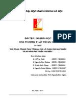 Bai Tap Lon Mon Hoc Cac Phuong Phap Toi Uu - De Tai 05