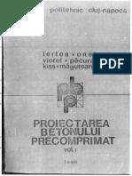 Proiectarea Betonului Precomprimat - 1986