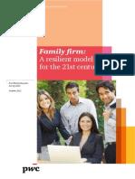 Pwc Family Business Survey 2012