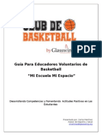 Guía Para Educadores Voluntarios de Basketball