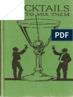 Cocktails How to Mix Them - Robert Vermeire 1922 -