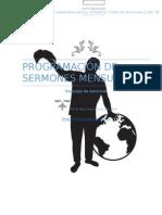 Programación de Sermones Mensuales (1)