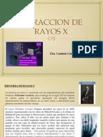 Difraccion de rayosX