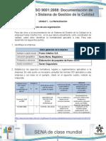 Actividad de Aprendizaje Unidad 1 - La Normalizacion de Una Organizacion