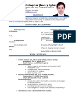 Chris Resume Updated