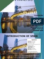 STEPIN ANALYSIS OF SPAIN