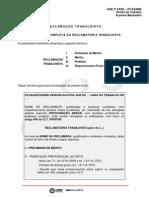 OAB 2 fase Processo trabalho