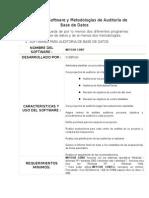 ASI-Búsqueda de Software de Auditoría