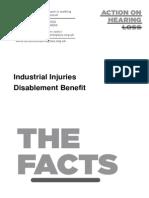 Industrial Injuries Disablement Benefit October 2012
