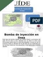 Bomba de inyeccion lineal