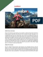Far Cry 4 Cheatsheet