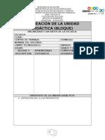 Planeación Didáctica 2015-2016