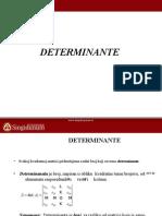 Determinante i Inverzna Matrica