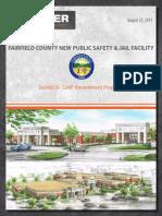 Fairfield County Jail plans document