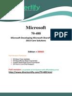 70-488 Real PDF Exam Material 2015