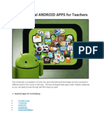 90 Educational ANDROID APPS for Teachers