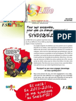 2015 Bulletin Rentree - SNES de Lille