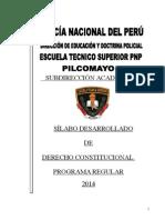 Sylabus Nuevode Derecho Constitucional