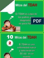 Mitos Sobre El TDAH