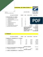 COTIZACION ADICIONALES.xls