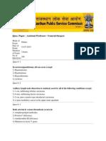 Ques Paper AP General Surgery 23072015