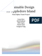 Sustainable Design for Appledore Island