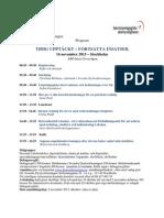 Program 16 Nov Stockholm