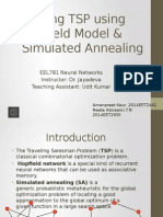 Solving TSP Using Hopfield Model