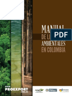 Manual de Licencias Ambientales en Colombia